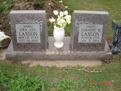 Ora Lee <i>Goff</i> Laxson