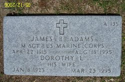 Dorothy L Adams
