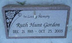 Ruth <i>Hunt</i> Gordon
