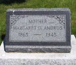 Margaret <i>Delano</i> Andrus