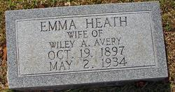 Emma Ester <i>Heath</i> Avery