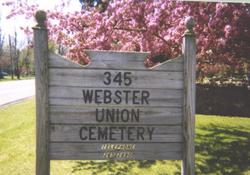 Webster Union Cemetery