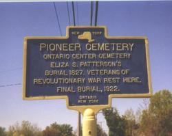 Ontario Center Cemetery