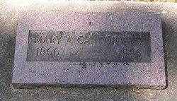 Mary A. <i>Actor</i> Cantonwine