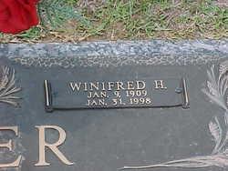 Winifred Maxine <i>Henson</i> Acker