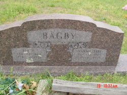 Nannie Jane <i>Edmondson</i> Bagby