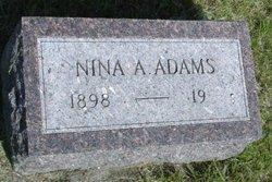Nina A <i>Gross</i> Adams