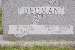 Raymie Custer Custer Dedman