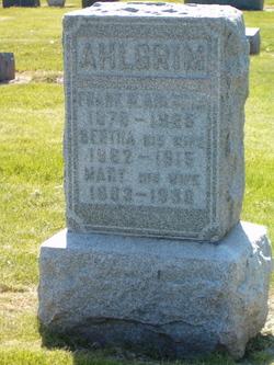 Bertha <i>Frier</i> Ahlgrim