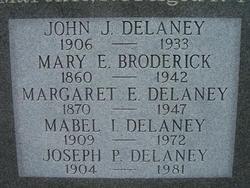 Mabel Irene <i>Byrne</i> Delaney