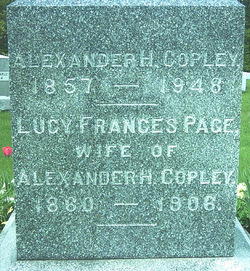 Lucy Frances <i>Page</i> Copley