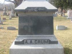 Abram Alvin Crum