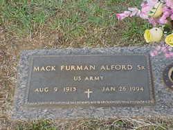 Mack Furman Alford, Sr
