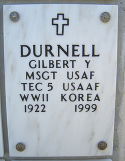 Gilbert Y Durnell