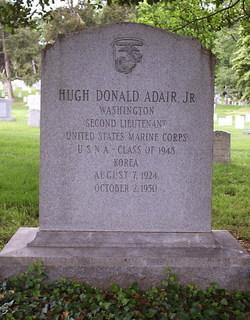 Lieut Hugh Donald Adair, Jr
