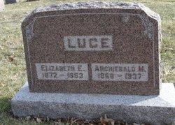 Archiebald M Luce