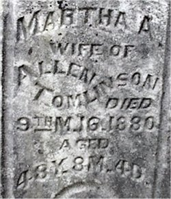 Martha A. <i>Perisho</i> Tomlinson
