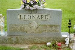 Nellie June <i>Lawson</i> Leonard