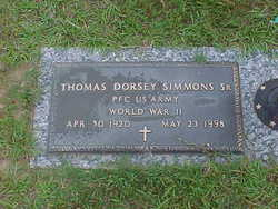 Thomas Dorsey Simmons, Sr