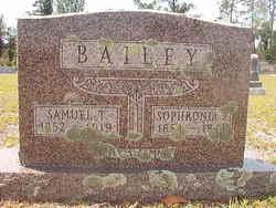 Sophronia Pasley <i>Baker</i> Bailey