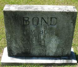 F. M. Bond