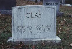 Lola Mae <i>Morgan</i> Clay