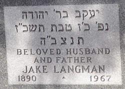 Jacob (Jake) Langman