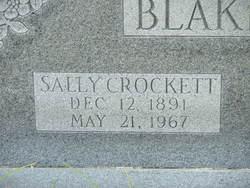 Sally Pearl <i>Crockett</i> Blakemore