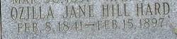 Ozilla Jane <i>Hill</i> Hard