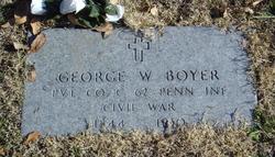 Pvt George W Boyer