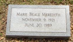 Marie <i>Beale</i> Meredith