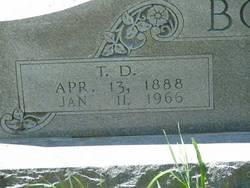 Thadeus Dent T.D. Bolton