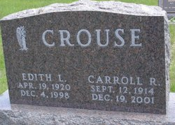 Edith Lavonne <i>Purviance</i> Crouse