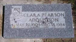 Clara Edith <i>Pearson</i> Adolphson