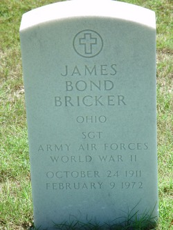 James Bond Bricker