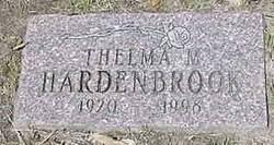 Thelma May <i>Hardenbrook</i> Moore