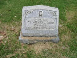 Pvt Norman Jay Grier