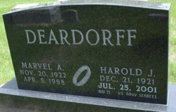 Marvel A <i>York</i> Deardorff