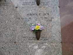 Alberta Frances Berty <i>Herman</i> Jack
