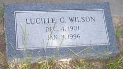 Lucille G. Wilson