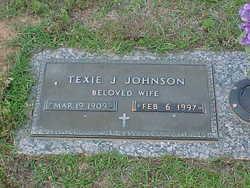 Texie Jackson Johnson