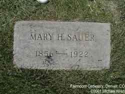 Mary Helen <i>Huesgen</i> Sauer