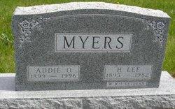 Addie Orvetta <i>York</i> Myers