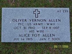 Alice <i>Foy</i> Allen