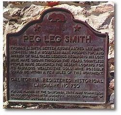 Thomas Long 'Peg Leg' Peg Leg Smith Smith
