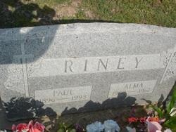 Alma Elnora <i>Kilpatrick</i> Riney
