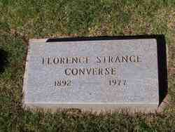 Florence M. <i>Strange</i> Converse