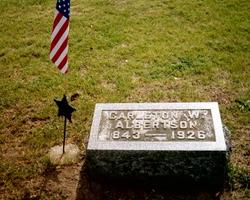 Pvt Carleton W. Albertson