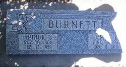 Jennie Katherine <i>Capes</i> Burnett