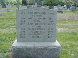 Martha A. <i>Weed</i> Aiken